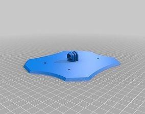 Dead Cat X Convertable Quadcopter Body 3D printable model