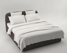 3D model Pro - Bed Meridiani Turner