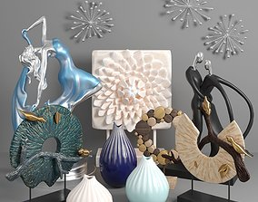 Decorative Sculptor Set 3D