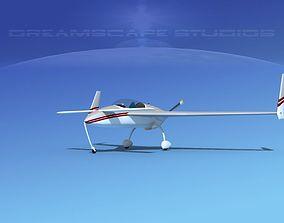 Rutan VariEze V15 3D model