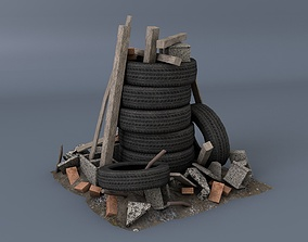 3D model Scrap Heap