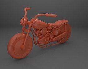 Chopper Motorcycle 3D print model