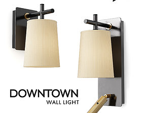 DOWNTOWN Wall Light 3D asset