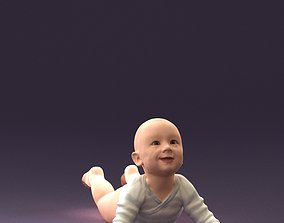 3D printable model Baby in stripped suit 0587