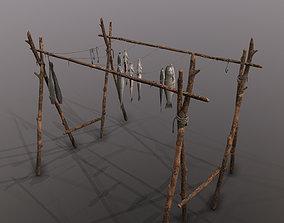 Fish Rack 3D PBR