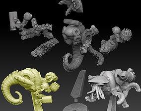 Nautiloid Horror Medium Carapace 3D printable model