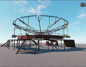 carousel romashka Pripyat 3D model