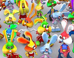 animated 3DRT - Toonpets Bunnies