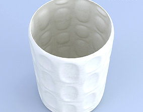 Ceramic White Vase other 3D