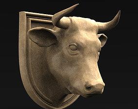 Bull Head 2 3D Model