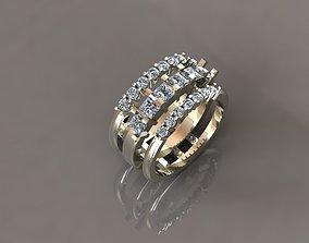 3D printable model Brilliant ring 02