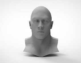 3D print model WWE The Rock