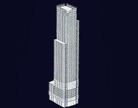 3 World Trade Center at 175 Greenwich Street 3D asset