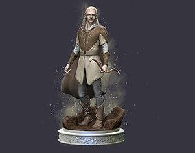 Legolas Fanart 3D print model