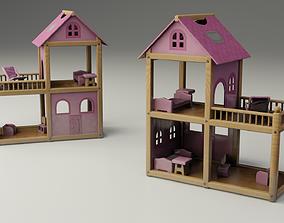 3D model Children Toy Dollhouse