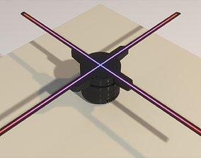 Wi-Fi 3D Hologram LED Fan Projector