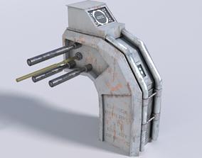 Sci-fi Energizer 3D model