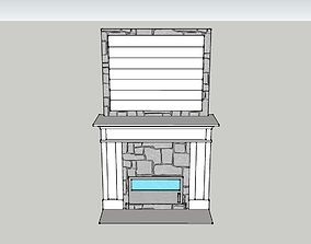 Fireplace 3D printable model