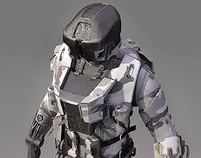 3D model S-Soldier