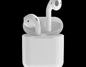 illustration Apple AirPods 3D model