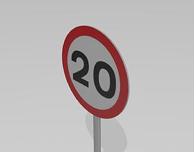 20 Speed limit 3D