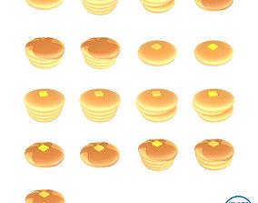 Pancake Mega Pack 01 3D model