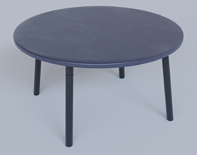 modern Table 3D asset low-poly