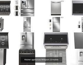 3D Kitchen appliances Whirpool