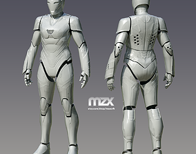 Pepper Pots Rescue Mark 49 suit for 3D-printing