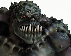 3D model Green Wolverine Monster