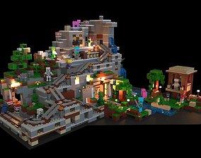 3D model Lego Minecraft