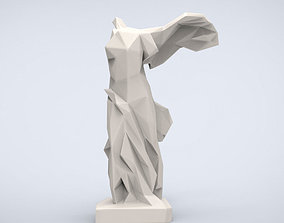 Printable Victory of Samothrace Lowpoly Style