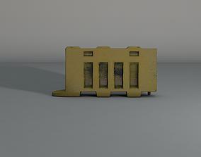 3D asset game-ready Barricade
