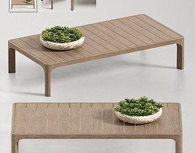 3D model MALTA TEAK COFFEE TABLE