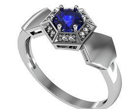 3D print model Ring Luxury set