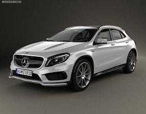 Mercedes-Benz GLA-class 45 AMG 2014 3D