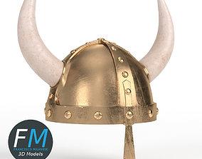 Viking helmet 3D model PBR