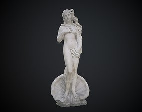 The Birth of Venus 3D model