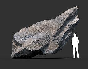 Gray Rock Formation 01 191227 3D asset