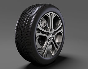 Holden Bolt EV wheel 2017 3D model