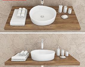3D washbasin Ravak Moon 3