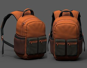 Backpack Camping Generic Color 3d human baggage realtime