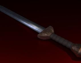 Roman Gladius 3D model game-ready