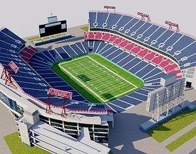3D model Nissan Stadium - Nashville USA