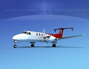 Beechcraft B1900C V09 3D