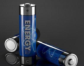 3D asset AA Battery