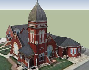 DeHaven Baptist Church 3D model