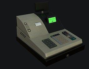 3D model Cash Register PBR Game Ready