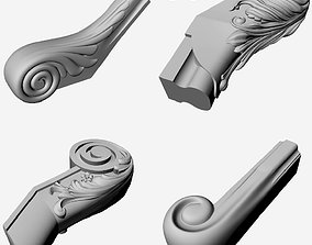 Handrail - Decor - 3d model for cnc and print