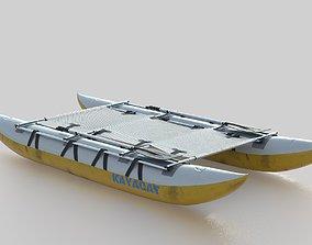 CATAMARAN 3D model PBR